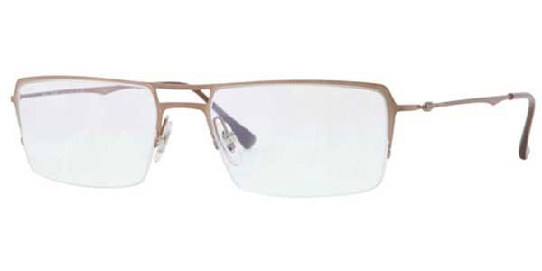 34facb0236f Ray-Ban Tech RX8713 Light Ray 1157 Glasses Brown Brushed ...