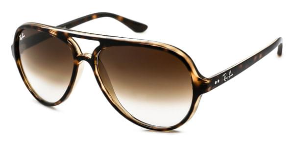 ce526687545 ... Ray-Ban RB4125 Cats 5000 71051 Sunglasses in Gold SmartBuyG ...
