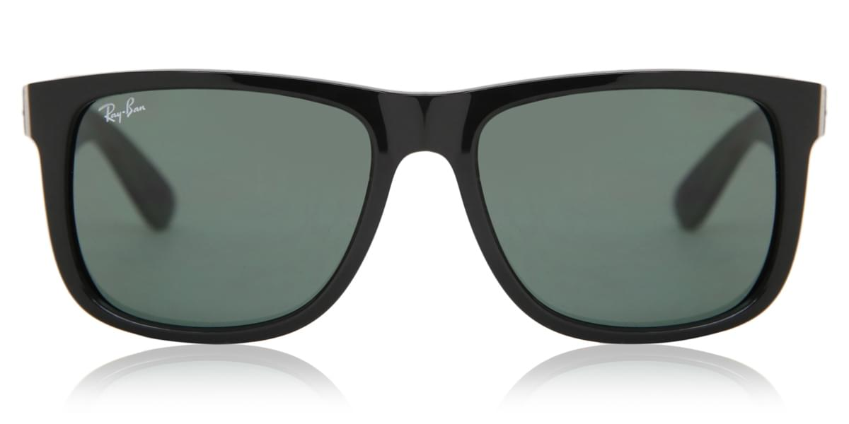 94fca58c4 Ray-Ban RB4165 Justin 601/71 Sunglasses Black | SmartBuyGlasses India