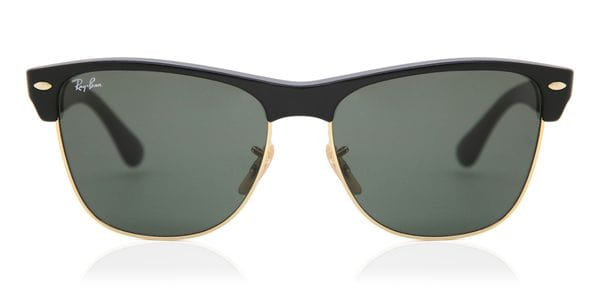 d3cf071ee9a Ray-Ban RB4175 Clubmaster Oversized 877 Sunglasses Black ...
