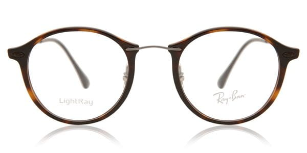1e0d0fb57 Óculos Graduados Ray-Ban Tech RX7073 Light Ray 5588 Tortoise ...