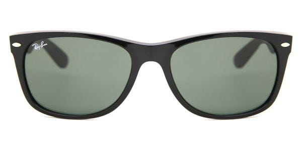 cee4bb49ce141 Ray-Ban RB2132 New Wayfarer 901 Sunglasses in Black ...