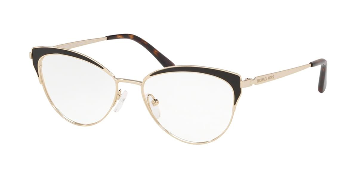 Michael Kors MK3031 WYNWOOD 1051 Womenâs Eyeglasses Gold Size 53 (Frame Only) - Blue Light Block Available