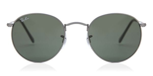 ray ban sunglasses round metal