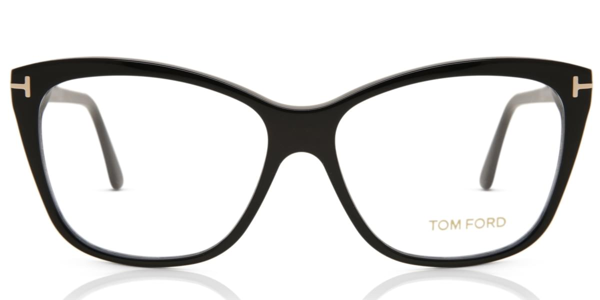 2cb8de2a43 Tom Ford FT5512 001 Eyeglasses in Black | SmartBuyGlasses USA
