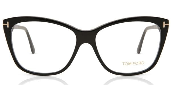 483e5bb362 Tom Ford FT5512 001 Glasses Black | SmartBuyGlasses India