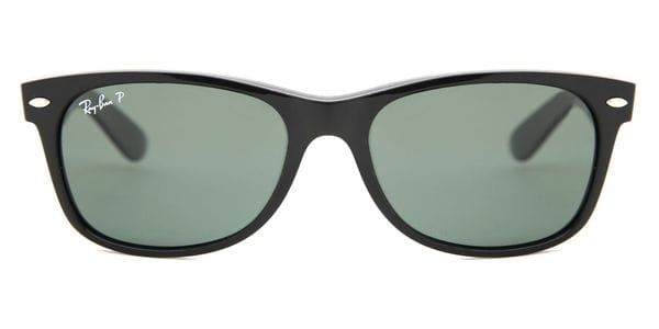 Ray-Ban RB2132 New Wayfarer Polarized 901 58 Sunglasses Black ... 4d6ba2339ce09
