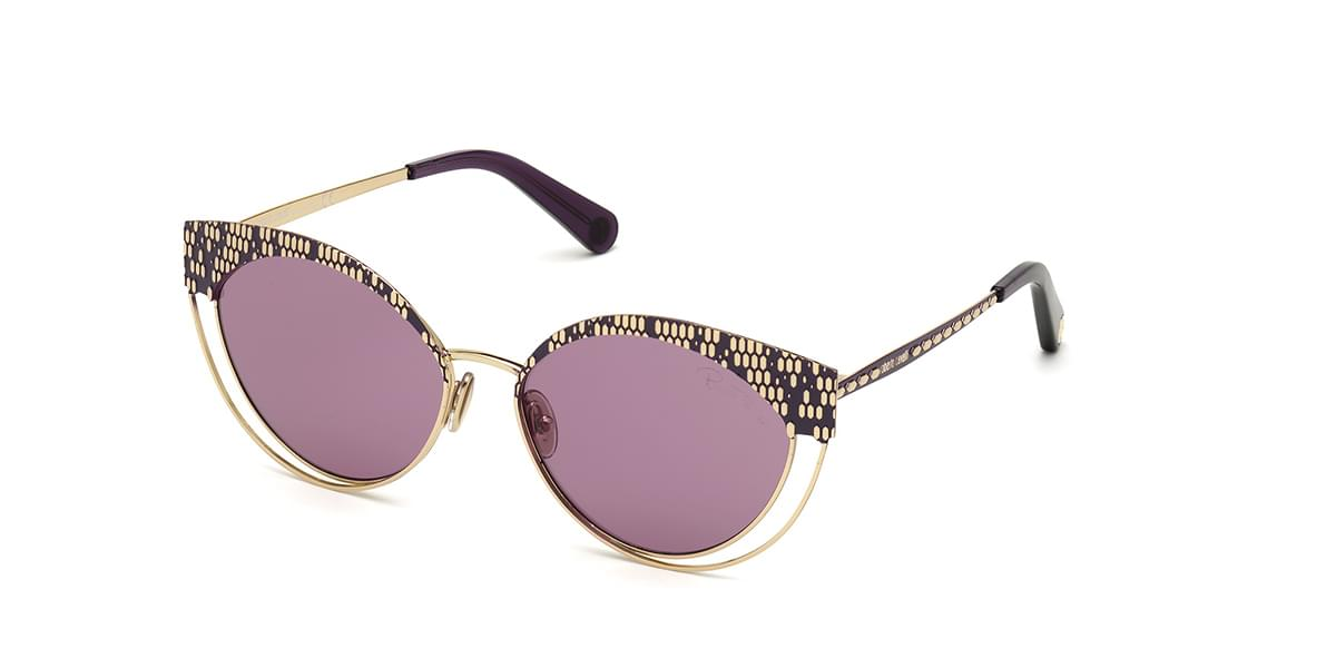 Roberto Cavalli RC 1125/S 32Y Women?s Sunglasses Gold Size 57