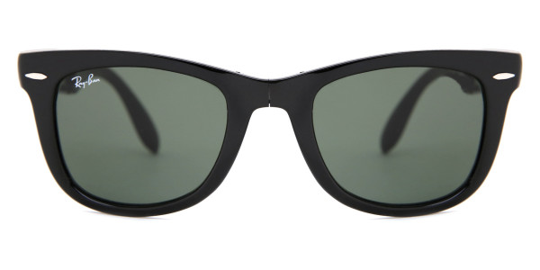 80666da7bbfa Ray-Ban RB4105 Wayfarer Folding 601 Sunglasses Black ...