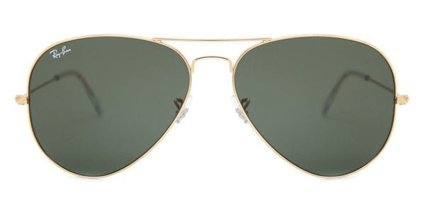 4063ec1e2906 Ray-Ban RB3025 Aviator L0205 Sunglasses in Gold
