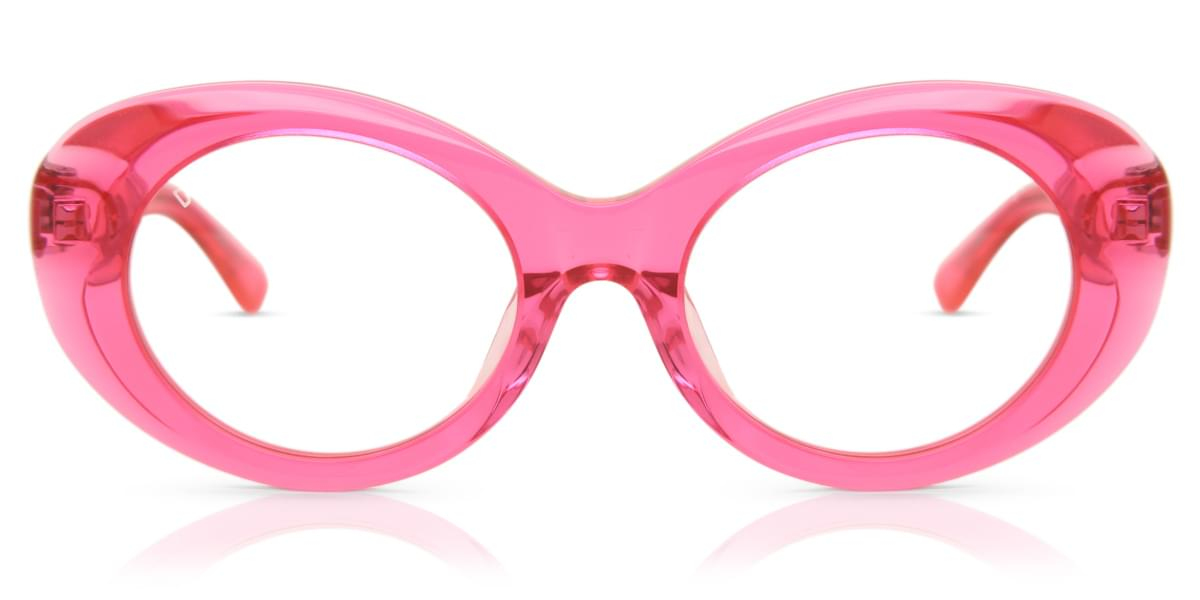 Image of Occhiali da Sole DIFF DIFF Olivia pink crystal+transparent pink lens