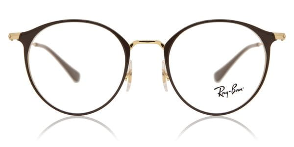 9a3c3cdcd Ray-Ban RX6378 2905 Eyeglasses in Brown | SmartBuyGlasses USA