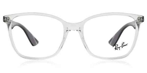 ray ban men's clear eyeglass frames