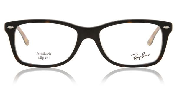 8820683ca Ray-Ban RX5228 Highstreet 5409 Glasses Top Havana On Texture ...