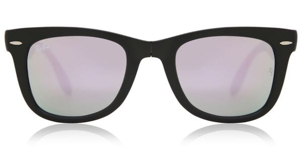 3e5519b36 Ray-Ban RB4105 Wayfarer Folding 601S4K Sunglasses Black ...