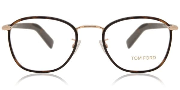 e5a6091b46cf Tom Ford FT5333 TIMELESS ESSENTIAL 056 Glasses Clear Shiny Bronze ...