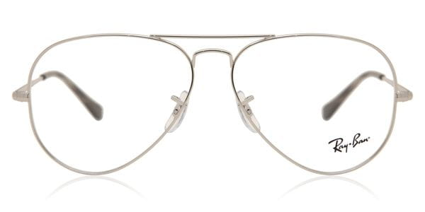 50bbe494b0 Ray-Ban RX6489 2501 Eyeglasses in Silver