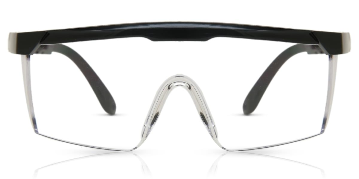 Image of Safety Goggles Eyeglasses SL-03 Black Anti-Fog Lens
