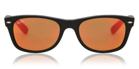 156c24b72ec563 Ray-Ban RB2132 New Wayfarer Flash