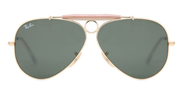 7779717e9f589 Ray-Ban RB3138 Shooter 001 Sunglasses Gold