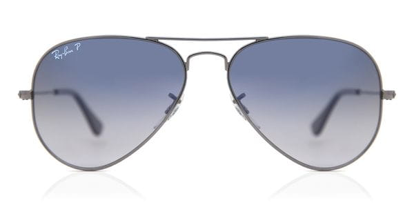 c1c3e465b48ef Ray-Ban RB3025 Aviator Gradient Polarized 004 78 Sunglasses Grey ...