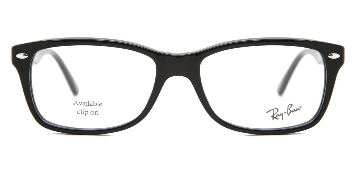 ebd4c8450b Ray-Ban RX5228 Highstreet 2000 Glasses Black | VisionDirect Australia