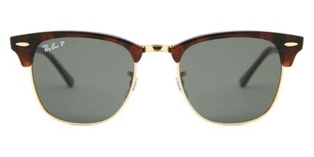 754ad9d4a6 Ray-Ban RB3016 Clubmaster W0366 Sunglasses Tortoise