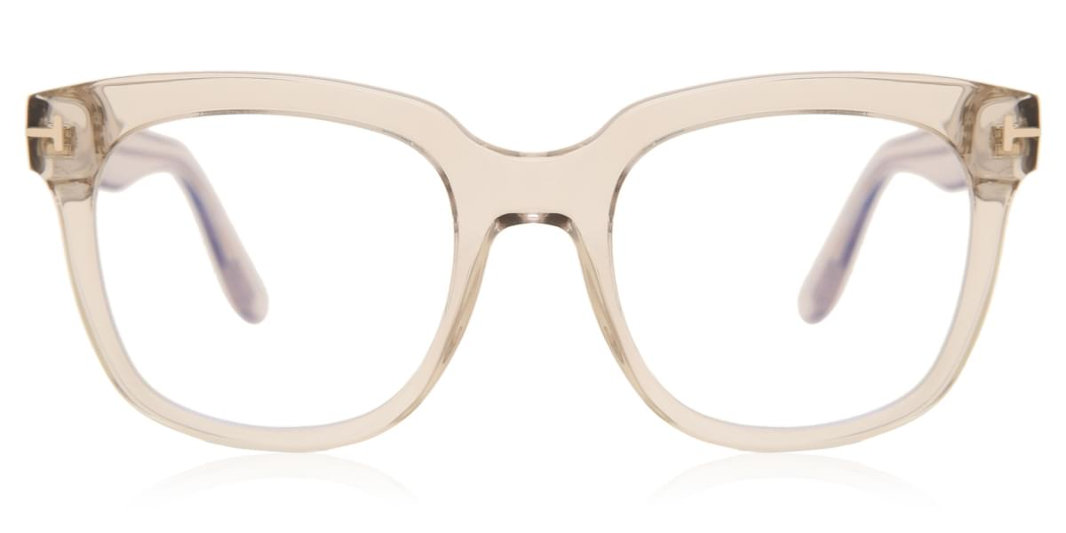 Tom Ford FT5537-B 072 Crystal Women Eyeglasses