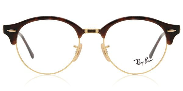 c5a3c0fe7b71b Ray-Ban RX4246V ClubRound 2372 Glasses Red