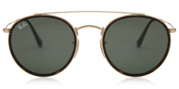 e1219a6bae2 Ray-Ban RB3647N 001 Sunglasses Gold