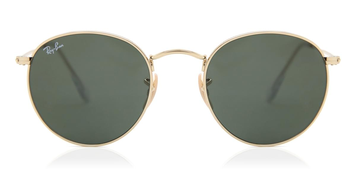 sunglasses ray ban round metal