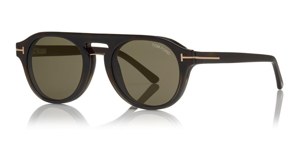 Gafas de Sol Tom Ford FT5533-B Blue-Light Block With Clip On 55A