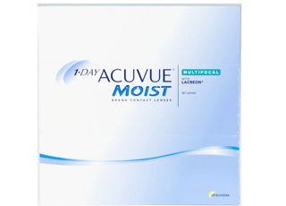 Image of 1-Day Acuvue Moist Multifocal 90 Pack Contact Lenses