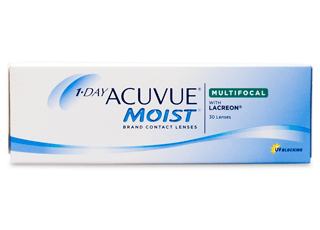 Image of 1-Day Acuvue Moist Multifocal 30 Pack Contact Lenses