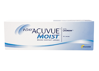 Image of 1-Day Acuvue Moist 30 Pack Contact Lenses