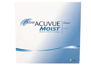Image of 1-Day Acuvue Moist 90 Pack Contact Lenses