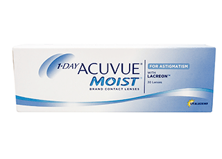 Image of 1-Day Acuvue Moist for Astigmatism 30 Pack Contact Lenses