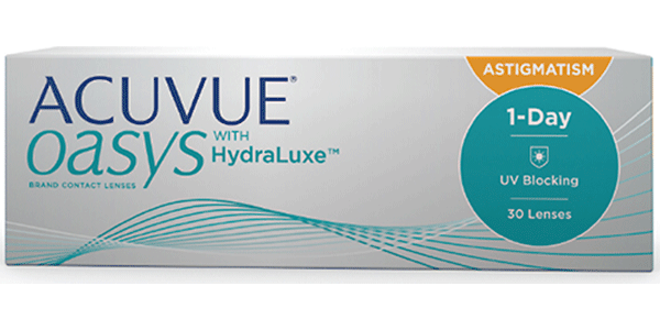 Image of Acuvue Oasys 1-Day for Astigmatism 30 Pack Contact Lenses