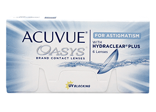 Image of Acuvue Oasys for Astigmatism 6 Pack Contact Lenses