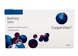 Image of Lenti a Contatto Biofinity Toric 3 Pack
