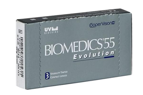 Image of Lenti a Contatto Biomedics 55 Evolution 3 Pack
