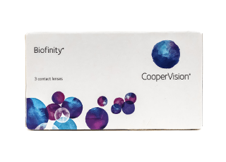 Image of        Lenti a Contatto Biofinity 3 Pack