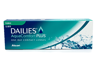 Image of Lenti a Contatto Dailies AquaComfort Plus Toric 30 Pack