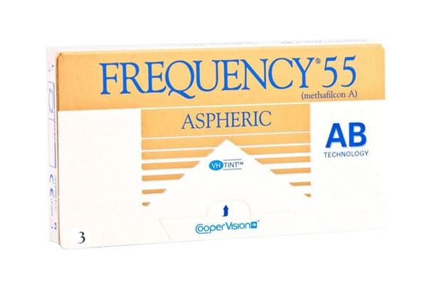 Image of Lenti a Contatto Frequency 55 Aspheric 3 Pack