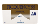 Image of   Frequency Frequency 55 Aspheric 6 Pack Kontaktlinser