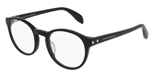 d4a2be1ae2e07 Alexander McQueen AM0075O 001 Glasses Black