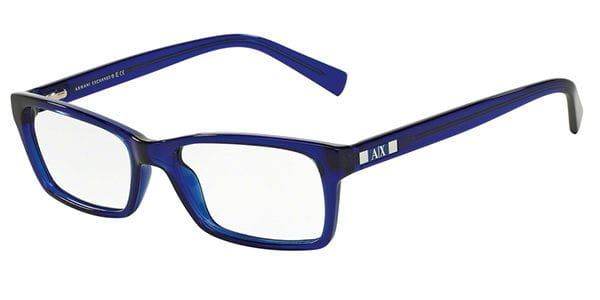 67be6a3005e8 Armani Exchange AX3007F Asian Fit 8018 Glasses Blue ...