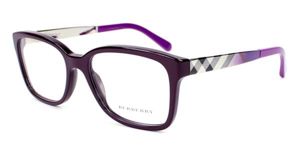 ace76735c213 Burberry BE2143 3400 Glasses Violet | VisionDirect Australia