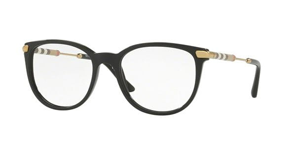 d5a17be2921 Burberry BE2255Q 3001 Eyeglasses in Black