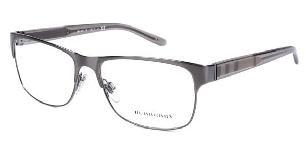1bba49f1ceed Burberry BE1289 Check 1008 Glasses Silver